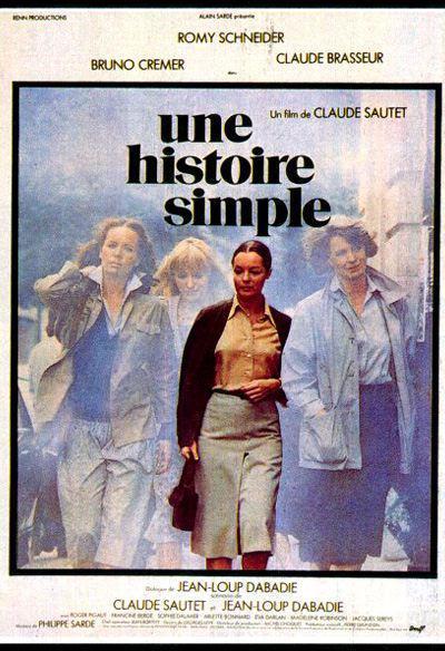 Une histoire simple de Claude Sautet