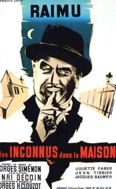 Affiche de Les Inconnus dans la maison de Henri Decoin avec Raimu
