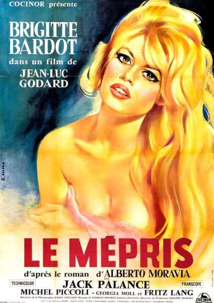 Affiche de Le Mépris de Jean-Luc Godard