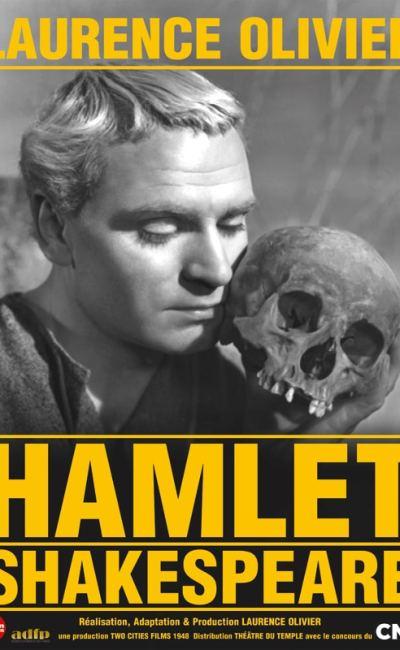 Affiche de Hamlet de Laurence Olivier