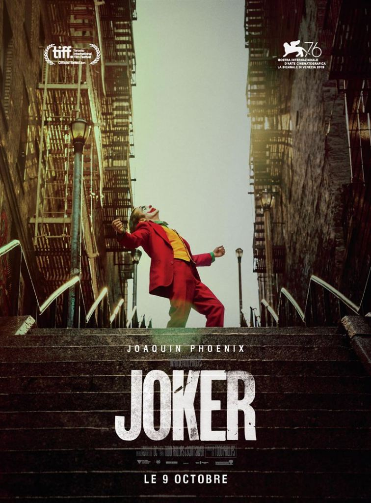 Joker, affiche française 2019