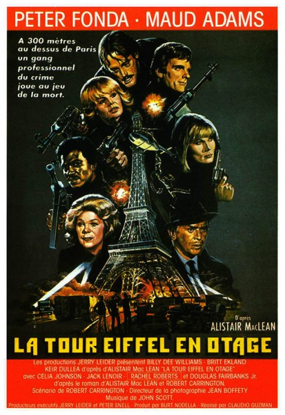 La Tour Eiffel en Otage, jaquette VHS