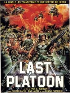 Last Platoon, afiche du film