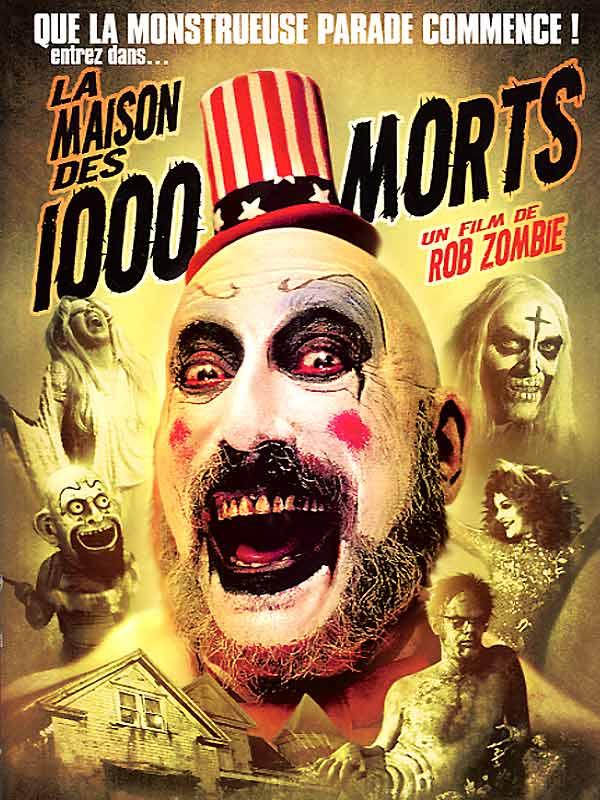 Affiche de La Maison des 1000 morts de Rob Zombie