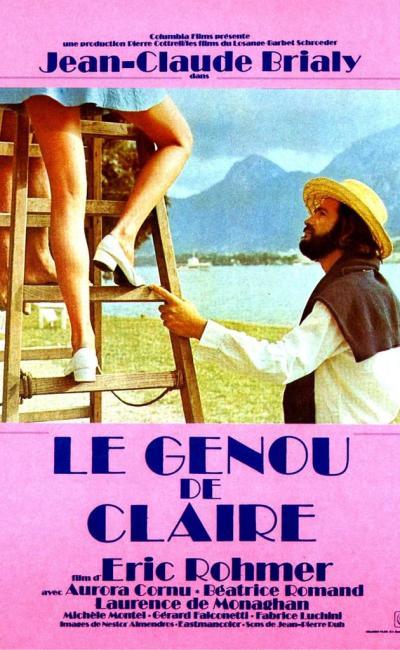 Affiche de Le Genou de Claire