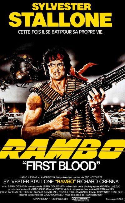 Affiche originale du film RAMBO FIRST BLOOD