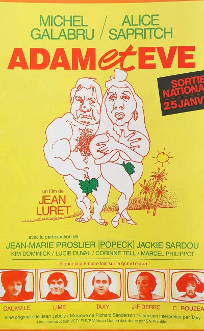 Affiche du film Adam et Eve 1984