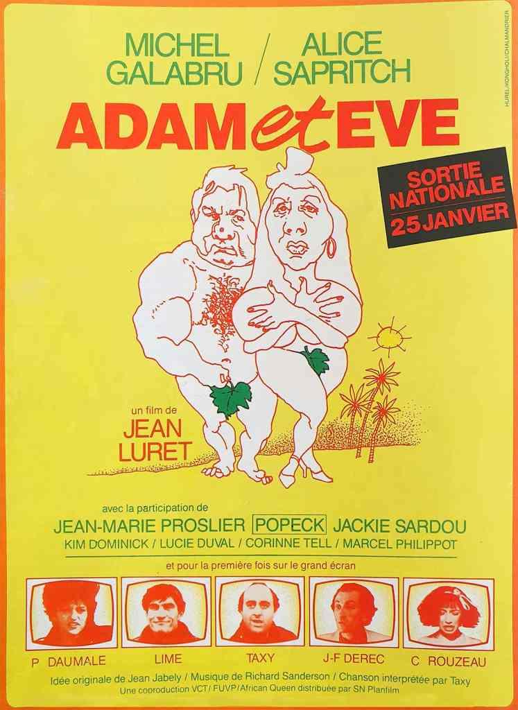 Affiche du film Adam et Eve 1984