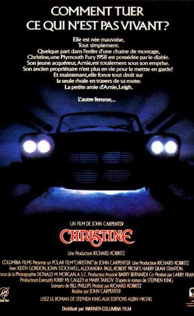 Christine de Carpenter, l'affiche