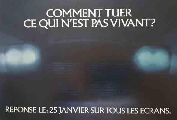 Affiche française teaser Christine