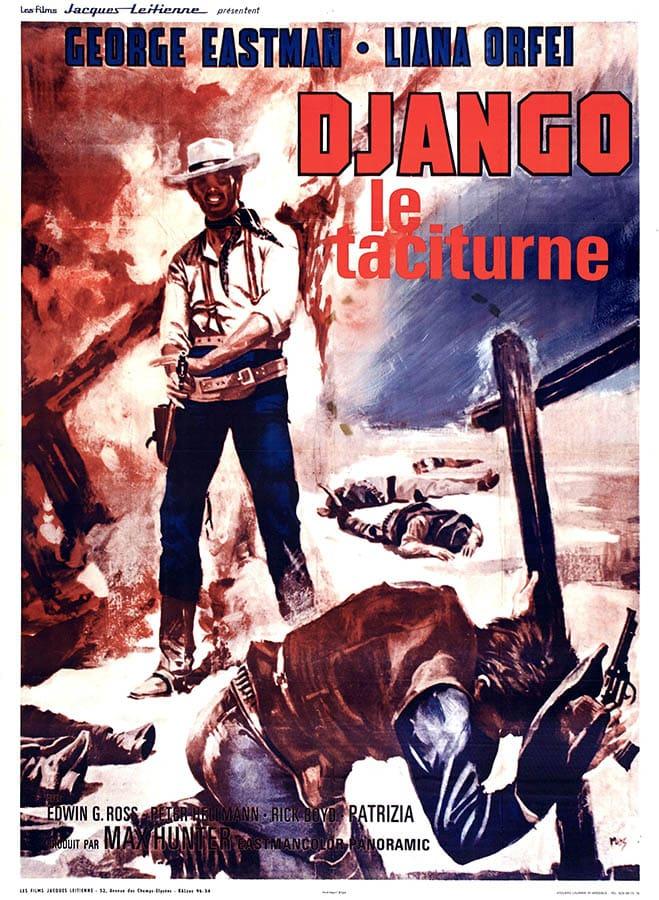 Django le taciturne affiche