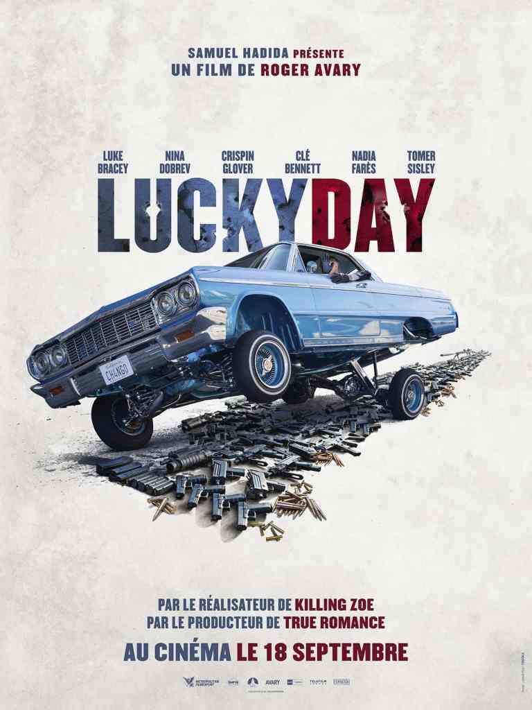 Affiche teaser de Lucky Day de Roger Avary