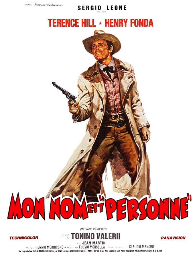 Mon nom est personne, affiche du classique avec Henry Fonda et Terence Hill