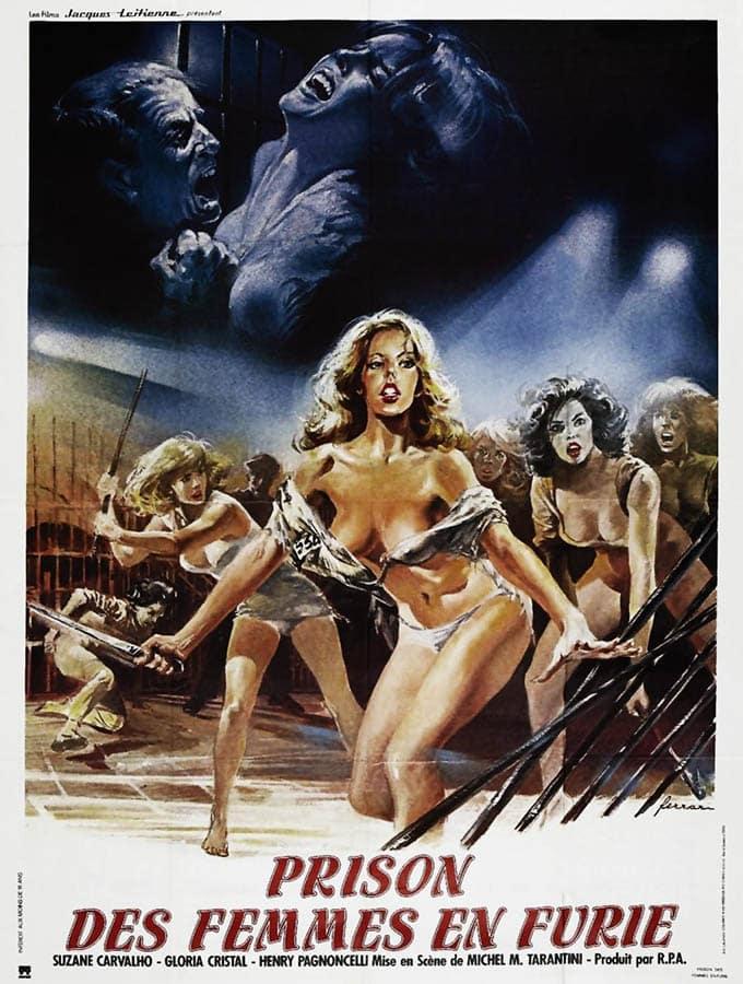 Prisons de femmes en furie (1984), affiche de Ferrari