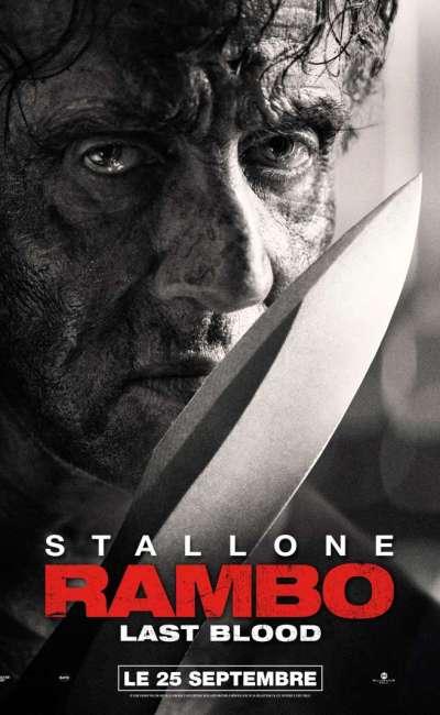 Rambo Last Blood, l'affiche française