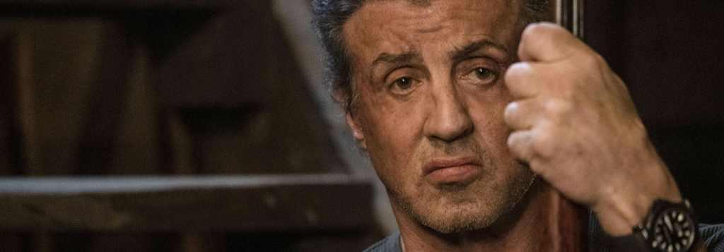Phot de Sylvester Stallone dans Last Blood