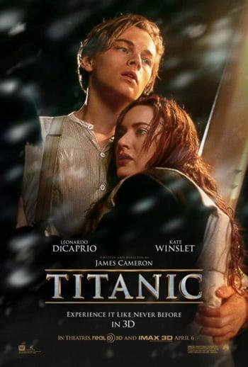 Affiche française de Titanic 3D