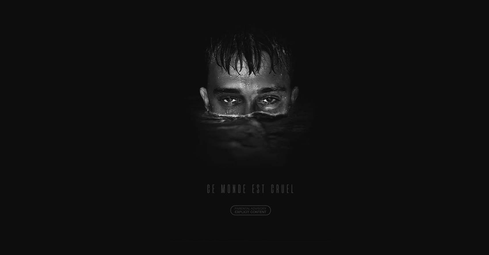 Vald : pochette de l'album ce monde est cruel