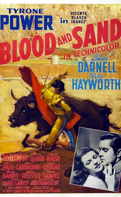 Affiche d'Arènes sanglantes (Blood and Sand) de Rouben Mamoulian