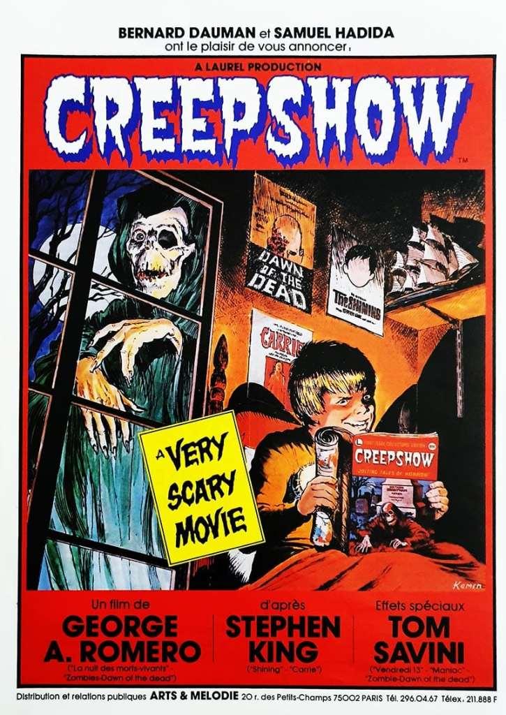 EXCLUSIF, la toute première affiche française de Creepshow