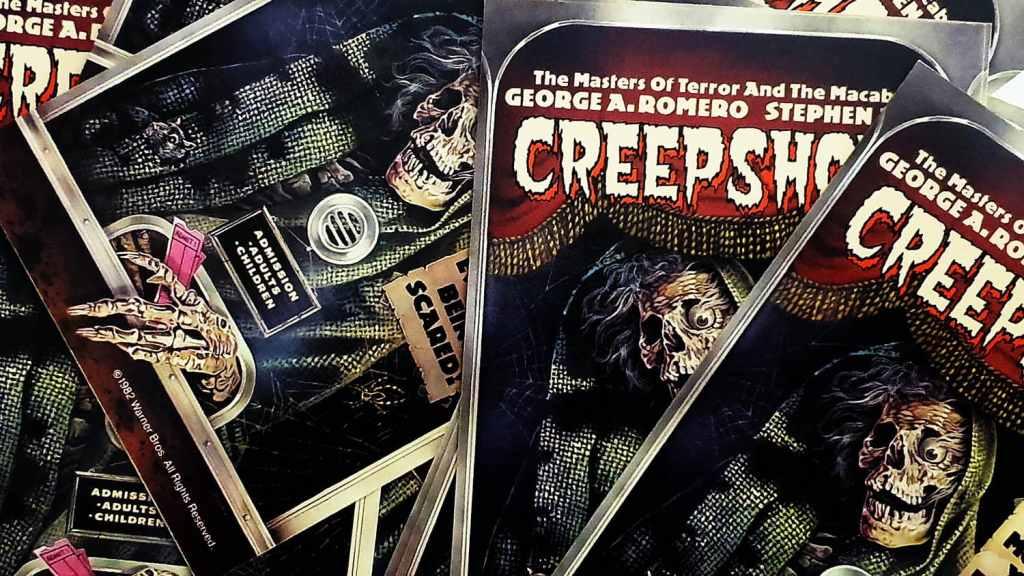 Affichettes de Creepshow par Joann Daley