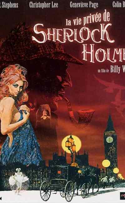 Afficge française (reprise) de La Vie privée de Sherlock Holmes de Billy Wilder