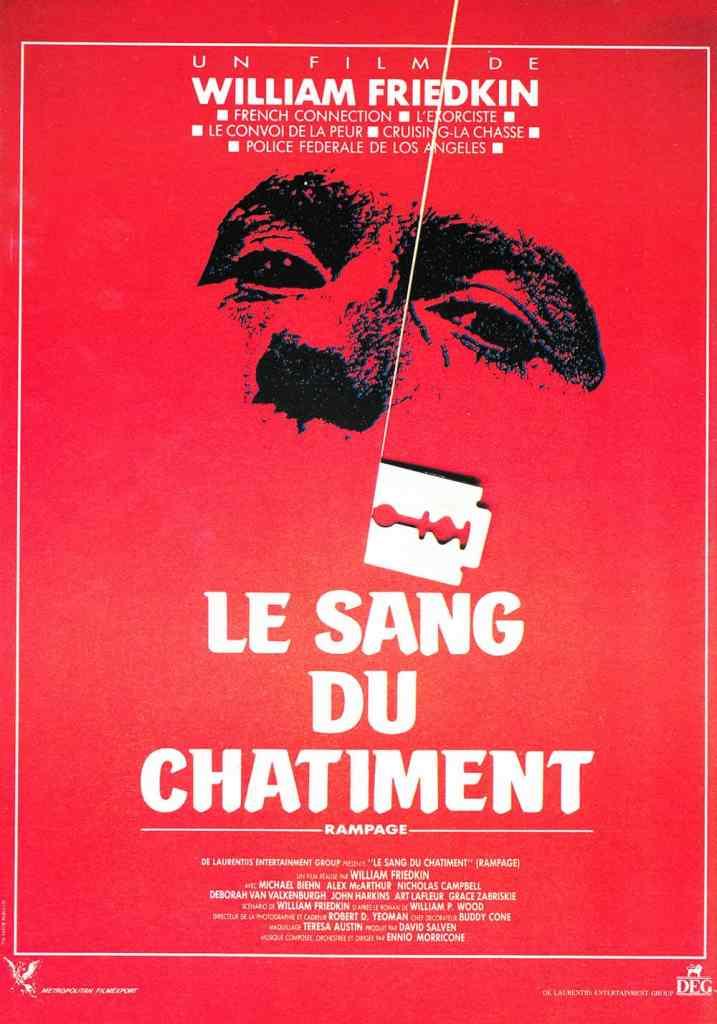 Le sang du châtiment (Rampage) : l'affiche originale