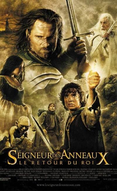 Affiche française de Le Seigneur des anneaux : Le retour du roi de Peter Jackson