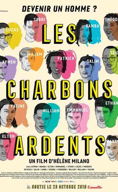 Affiche du film Les Charbons ardents