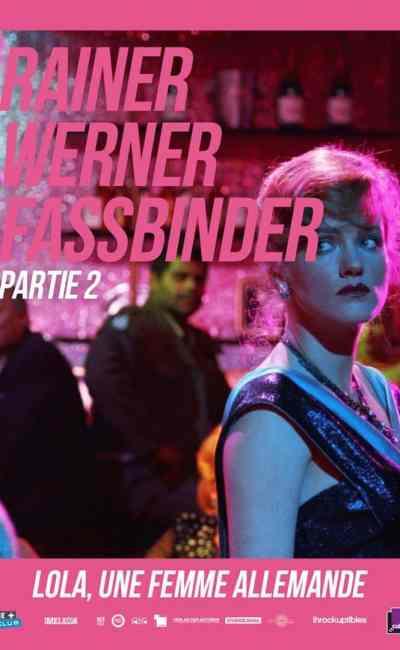 Affiche française (reprise) de Lola, une femme allemande de Rainer Werner Fassbinder