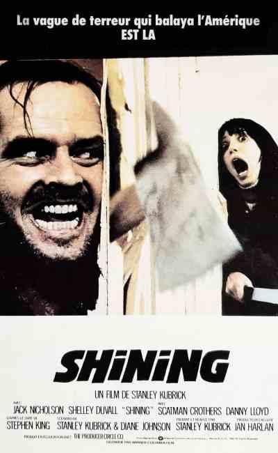 affiche française de Shining 1980