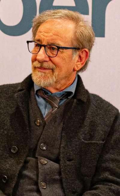Steven Spielberg pour la promotion de Pentagon Papers
