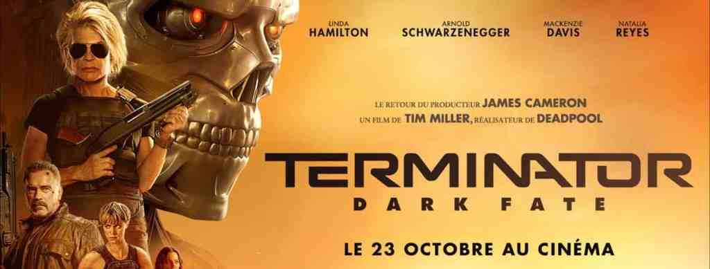 Terminator Dark Fate : le bandeau