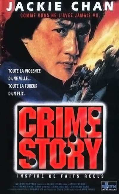 Crime Story jaquette Jackie Chan
