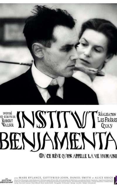 Institut Benjamenta, l'affiche