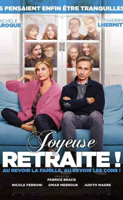 Joyeuse Retraite : l'affiche du film !