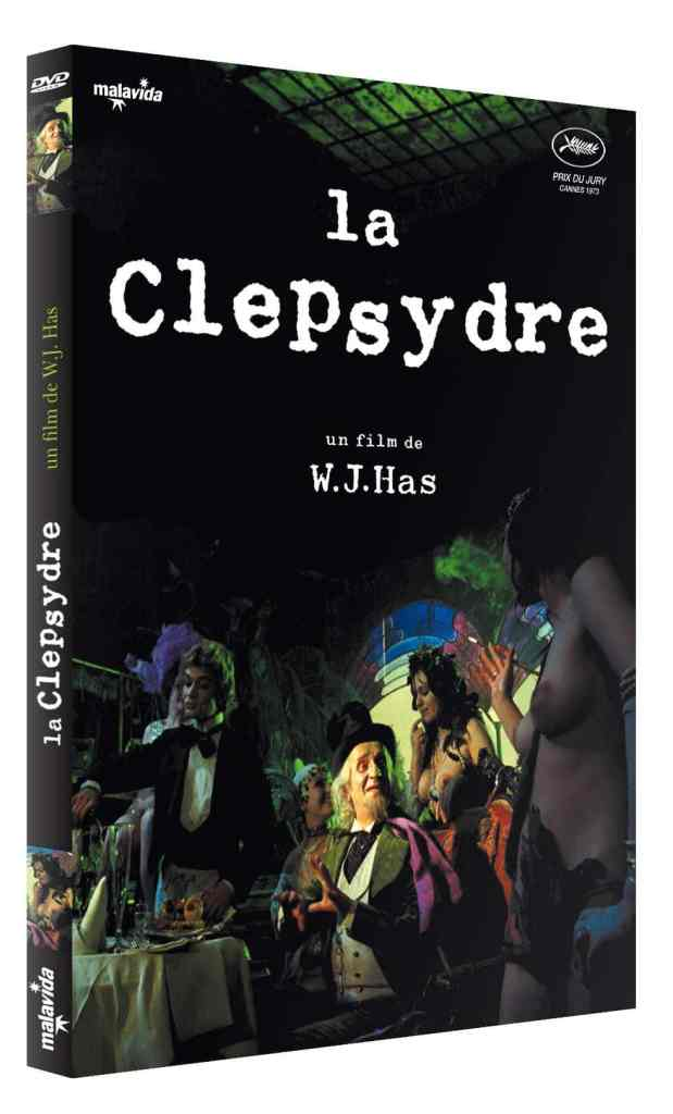 Jaquette 2019 de La Clepsydre (DVD, Malavida)