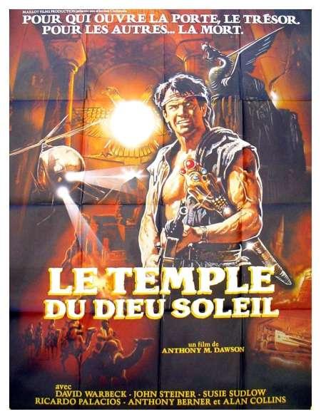 Le temple du dieu soleil, l'affiche