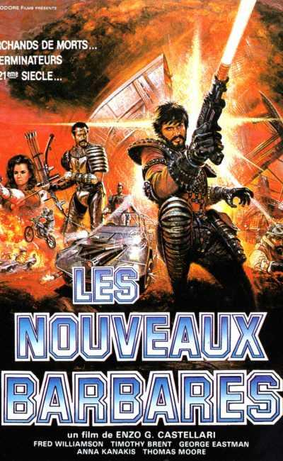 Les nouveaux Barbares - affiche cinéma France