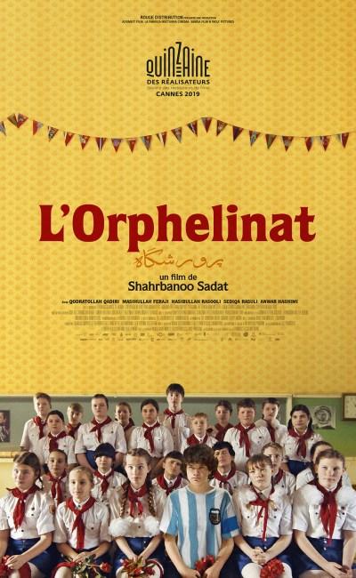 L'Orphelinat (2019), de Shahrbanoo Sadat, l'affiche