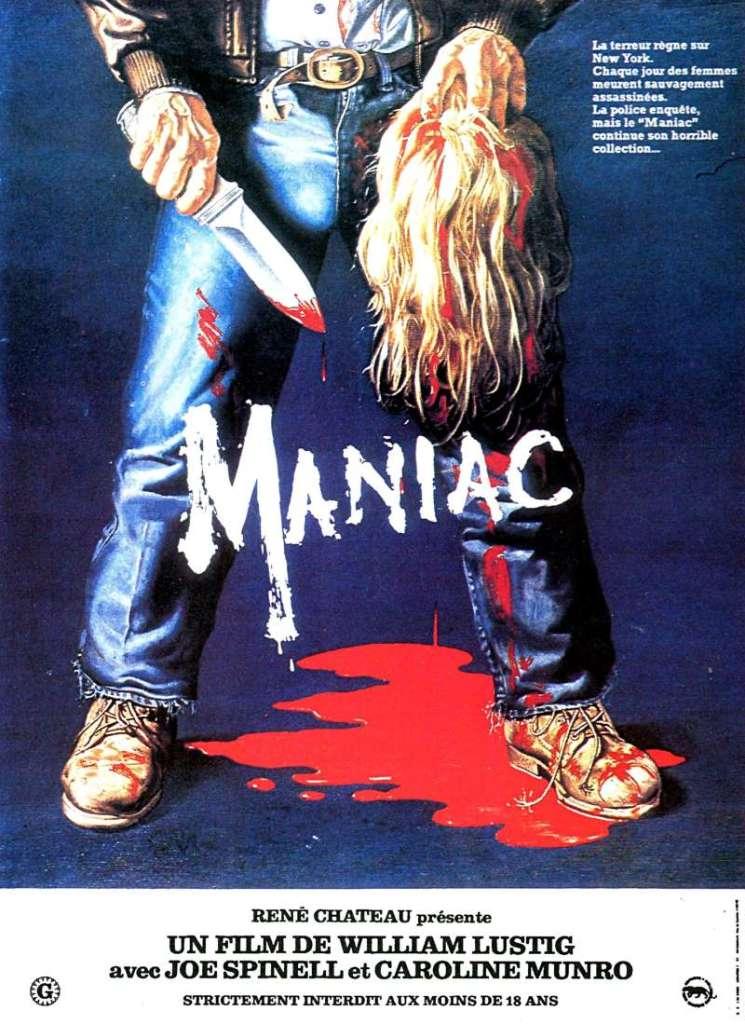 Maniac, l'affiche du film de 1980