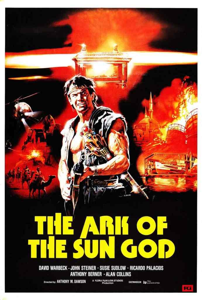 Le temple du dieu soleil / The Ark of the sun god : affiche américaine
