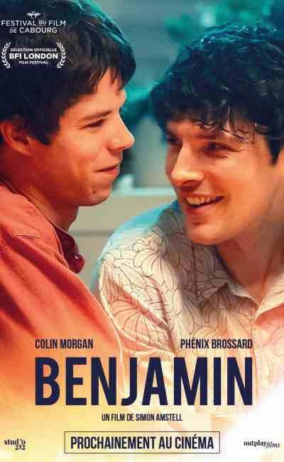 Benjamin de Simon Amstell, affiche du film distribué par Outplay