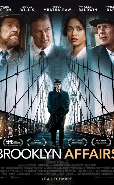 brooklyn Affairs affiche du film d'Edward Norton