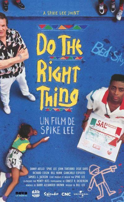 Affiche française de Do the Right Thing de Spike Lee