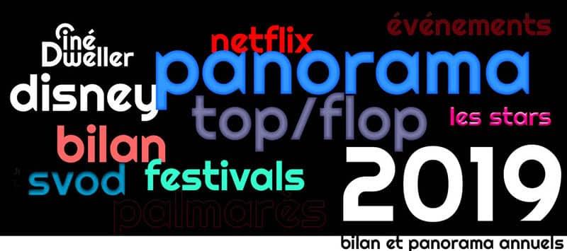 Panorama et bilan cinéma 2019