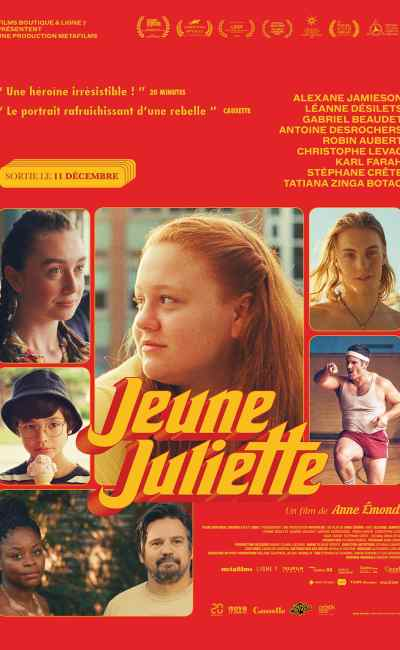 Jeune Juliette l'affiche du film de Anne Emond