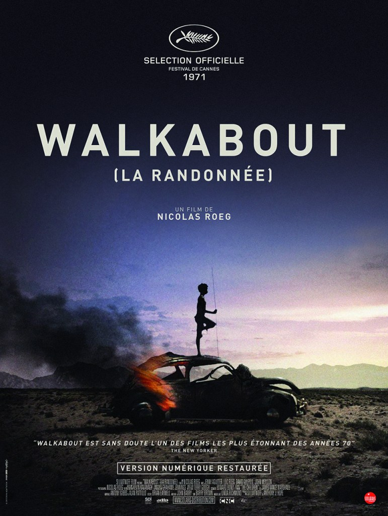 Affiche reprise de Walkabout, La randonnee de NICOLAS Roeg