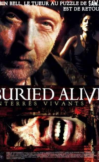 Buried Alive, la jaquette DVD