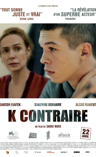 K contraire, affche